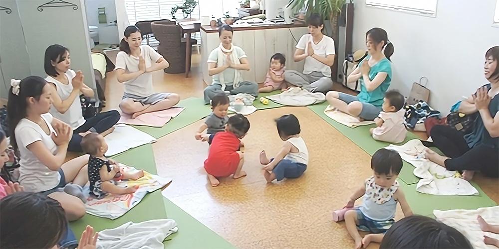 オリーブ母子相談室 ベビー&ママヨガ(7~12ヶ月クラス)のイメージ画像