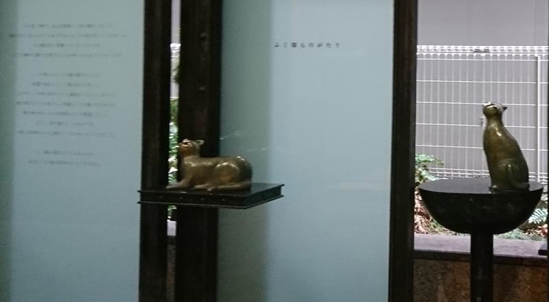 幸区のモニュメントふく猫のイメージ画像