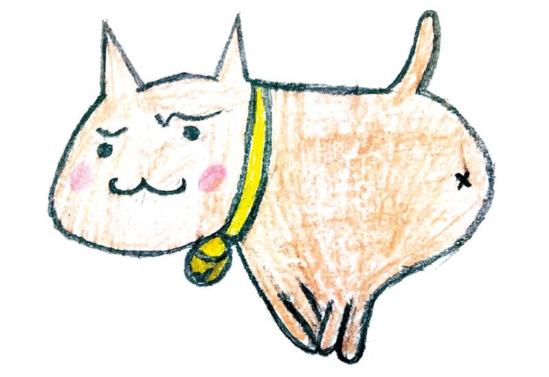 悠太さん(中1)の描いた さいわいにゃんのイメージ画像