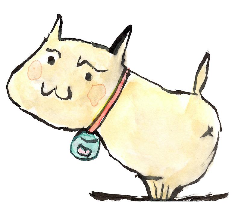若林清美さん(80歳)の描いたさいわいにゃんのイメージ画像