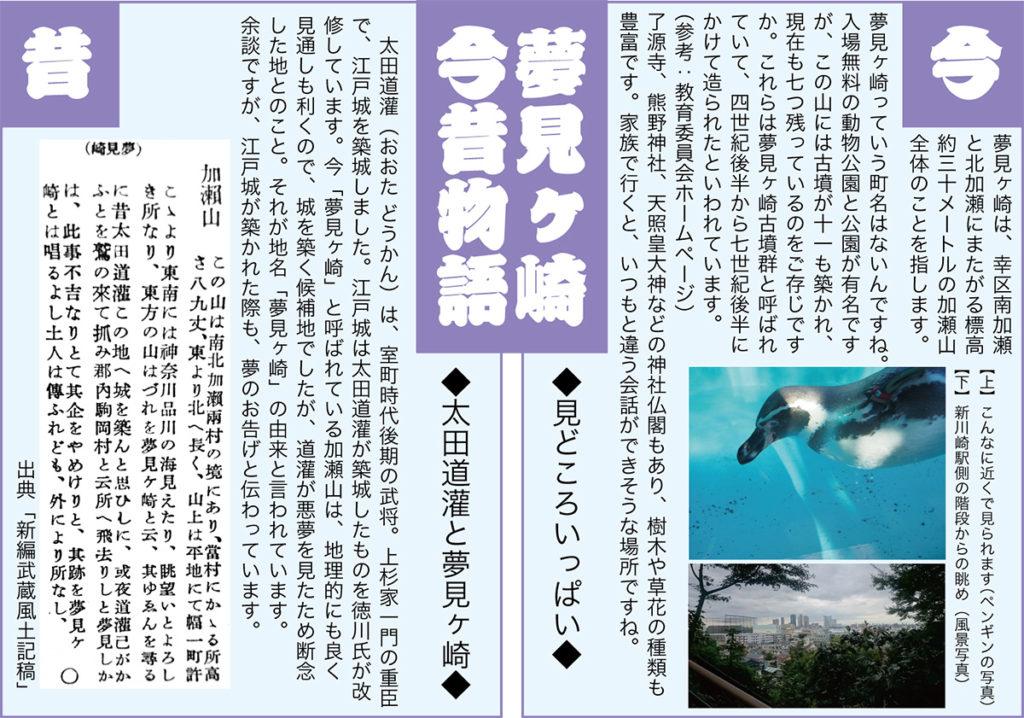 夢見ヶ崎今昔物語のイメージ画像