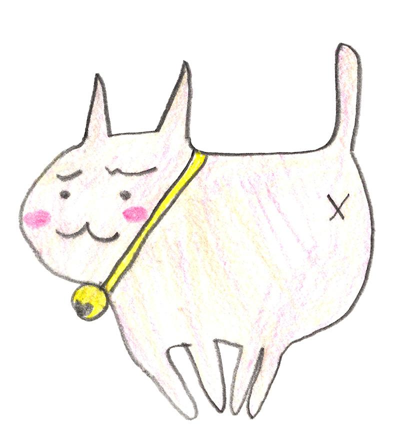 七夢さん(小6)の描いたさいわいにゃんのイメージ画像